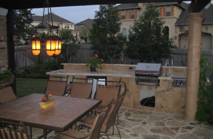 Outdoor Kitchen/Living – Anderson Landscapes