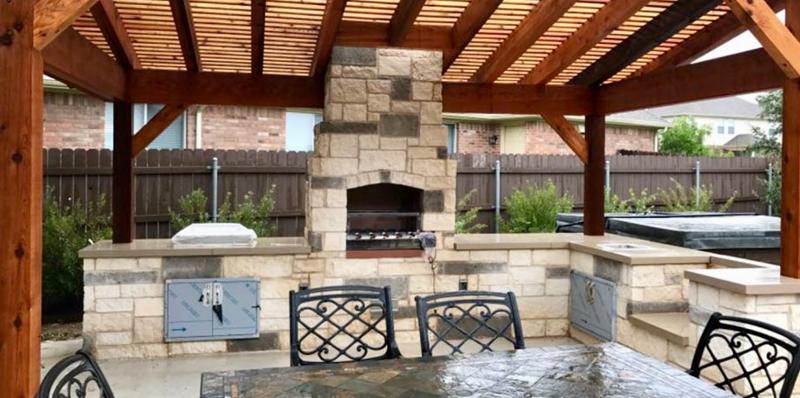 Round Rock Luxury Outdoor Kitchens Designers In Round Rock ...